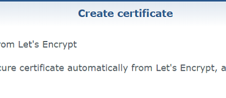 How To: Set up SSL Certificate on Synology NAS