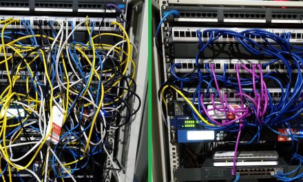Project: Recabling our Server Rack