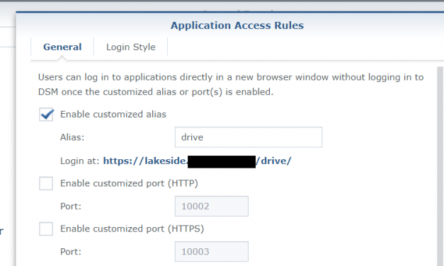 tip: custom (Direct) login LINK for SYnology Applications