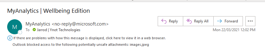 FIX: Outlook blocked access to the following potentially unsafe attachments